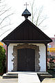 Friedhof Köln-Pesch Front der Trauerkapelle.JPG