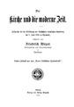 Friedrich Meyer - Die Kirche und die moderne Zeit.pdf