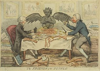 Isaac Cruikshank - Image: Friends of the People 1792 Cruikshank