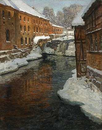 Frits Thaulow - Image: Frits Thaulow Fra Akerselven
