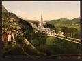 From Notre Dame de Lourdes, Lourdes, Pyrenees, France-LCCN2001698643.tif