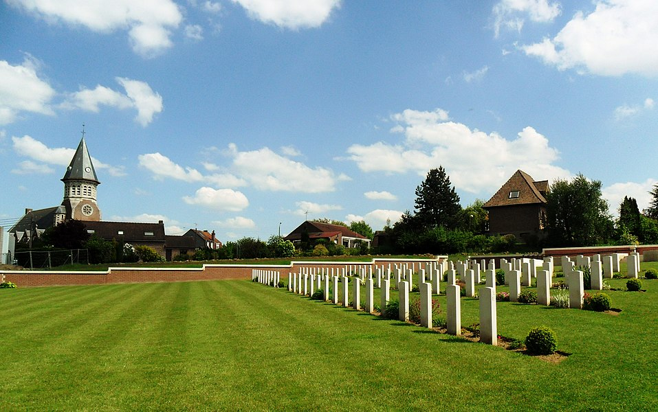 Fromelles Commonwealth War cemetery