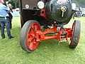 Front axle, Foden steam tractor, Abergavenny steam rally, 2015.jpg