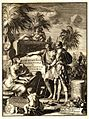 Frontispiece of Adriaan Reland's Palaestina ex monumentis veteribus illustrata.jpg