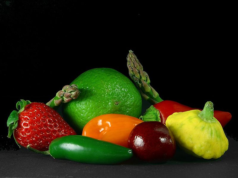 File:Fruits and vegetables.jpg