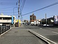 Fukuoka Prefectural Road No.504 near Nishitetsu-Kashii Station.jpg