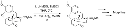 Fukuyama Synthesis of Morphine