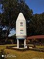 Full size heat shield of PSLV space rocket. (49054547912).jpg