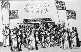 Philip Sidney - The funeral of Sir Philip Sidney, 1586