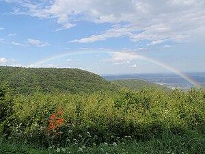 Vas County - Image: Günser Gebirge