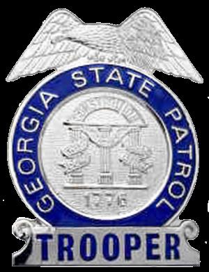 Georgia State Patrol - Image: GA Trooper Badge