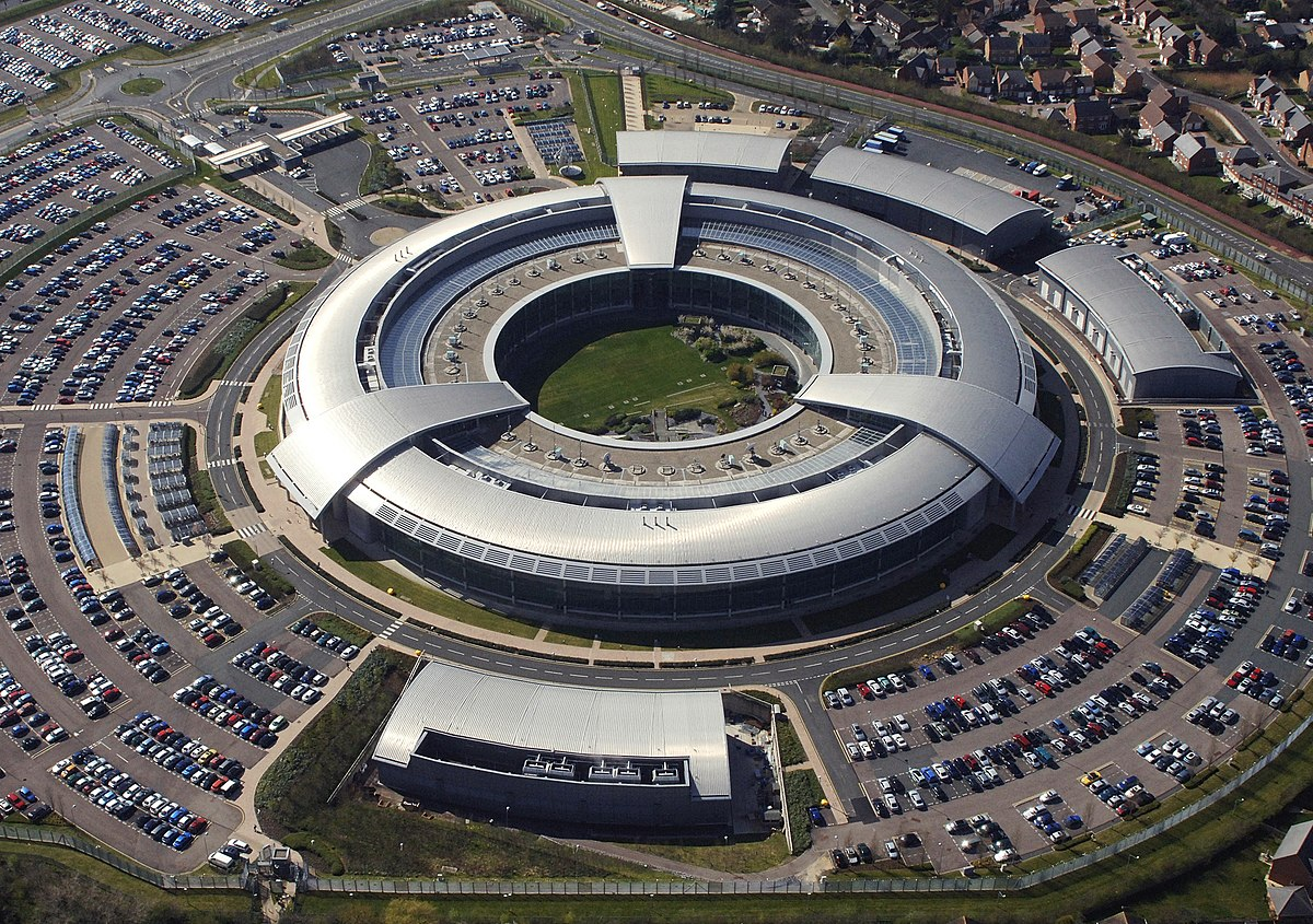 a security electronic surveillance operated by the British Government Communications Headquarters