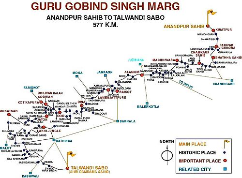 GGS Marg Map