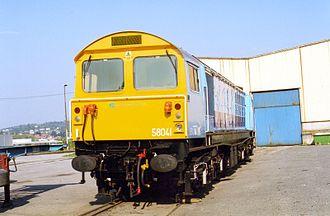 British Rail Class 58 - Image: GIFL361