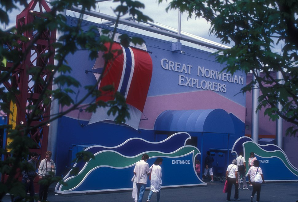 GREAT NORWEGIAN EXPLORERS PAVILION AT EXPO 86, VANCOUVER, B.C.