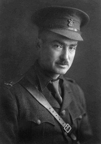 George Richardson Memorial Trophy - Captain George Taylor Richardson, circa 1914.