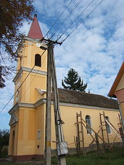 Lutheran church of Gadács