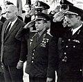 Gagarin in Port Said Egypt 1962 salut.jpg