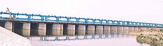 Ganges Barrage - Image: Ganga Barrage