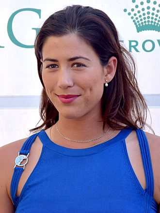 Garbiñe Muguruza - Garbiñe Muguruza at the 2016 Australian Open Players' Party
