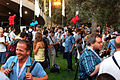 Garden party at Wikimania 2011.jpg