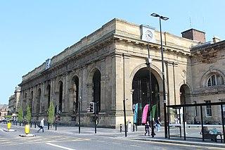 Newcastle railway station Mainline railway station in Newcastle upon Tyne, England