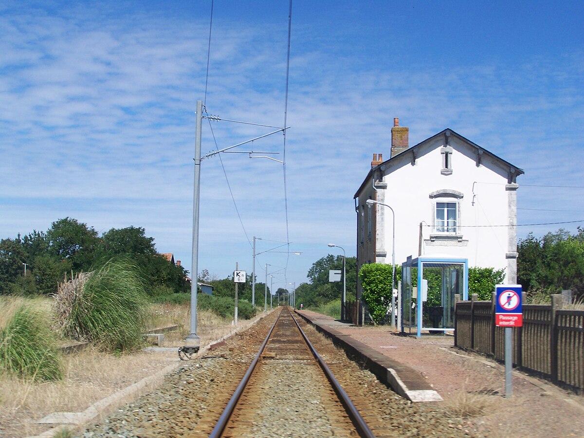 Gare d 39 olonne sur mer wikip dia for Garage de la gare bretigny