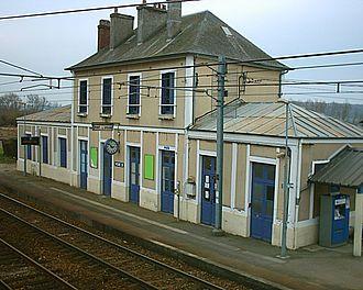 Gare de Pont-l'Évêque - Pont-l'Évêque station