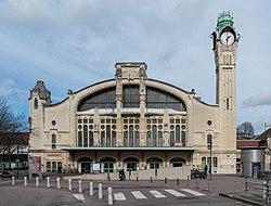 Gare de Rouen Rive-Droite, South View 140215 1.jpg