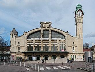 Gare de Rouen-Rive-Droite - Image: Gare de Rouen Rive Droite, South View 140215 1