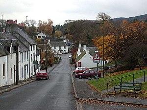 Gargunnock - Image: Gargunnock Village