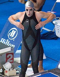 Garrett Weber-Gale American swimmer, Olympic gold medalist, world champion, former world record-holder