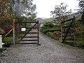 Gateway to small garden centre near Bellsgrove - geograph.org.uk - 1527383.jpg