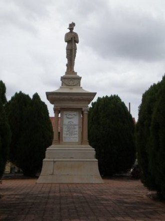Gatton, Queensland - Boer war memorial, Gatton