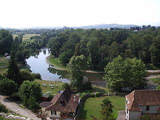 Gave dOloron river in France