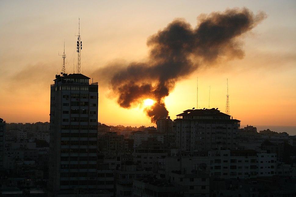 Gaza Burns - Flickr - Al Jazeera English