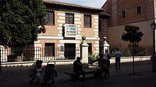 Wahrscheinliches Geburtshaus von Cervantes in Alcalá de Henares (Quelle: Wikimedia)