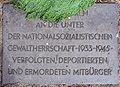 Gedenktafel Am Rathauspark ggü 1 (Witte) NS Opfer.JPG