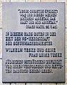 Gedenktafel Rosenheimer Str 5 (Schöb) Wilhelm Teske.JPG