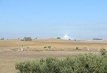 Gemasolar thermosolar electrical power generator - Fuentes de Andalucía, Seville, Spain - DSC07271.JPG