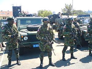 Gendarmery (Serbia) - Gendarmery members