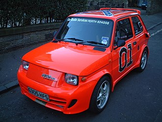 Fiat 126 - A modified Fiat 126