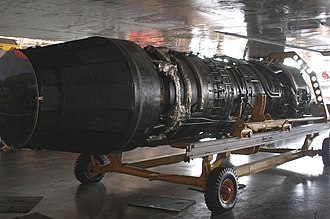 General Electric YJ93 - YJ93-GE-3 engine at National Museum of the United States Air Force