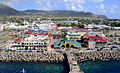 General view of Basseterre, St. Kitts from Ship (8642159070).jpg