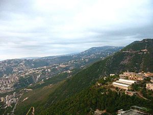 Batha, Lebanon - General view of Batha