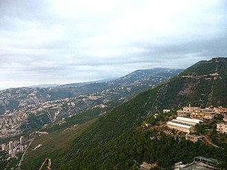 Batha, Lebanon - General view of Batha
