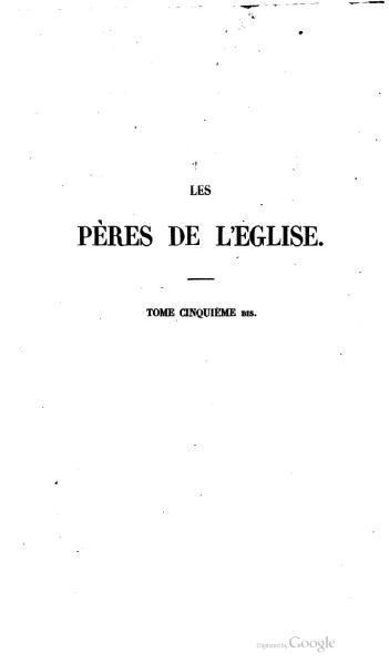 File:Genoude - Les Pères de l'Eglise, vol. 5 bis.djvu