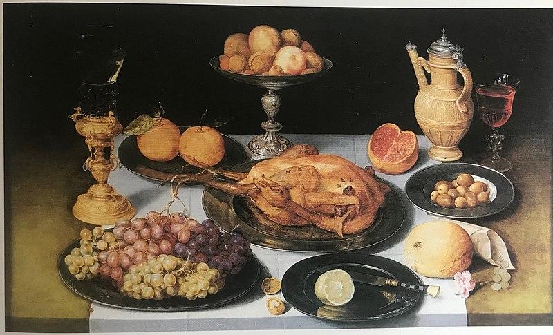 File:Georg Flegel - Still Life - A Prosperous Past.jpg
