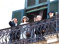 George Abela sworn in, balcony, Valletta.jpg
