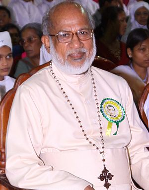 Syro-Malabar Catholic Major Archeparchy of Ernakulam-Angamaly - Mar George Alenchery, the first elected Major Arch Bishop of Syro Malabar Church.